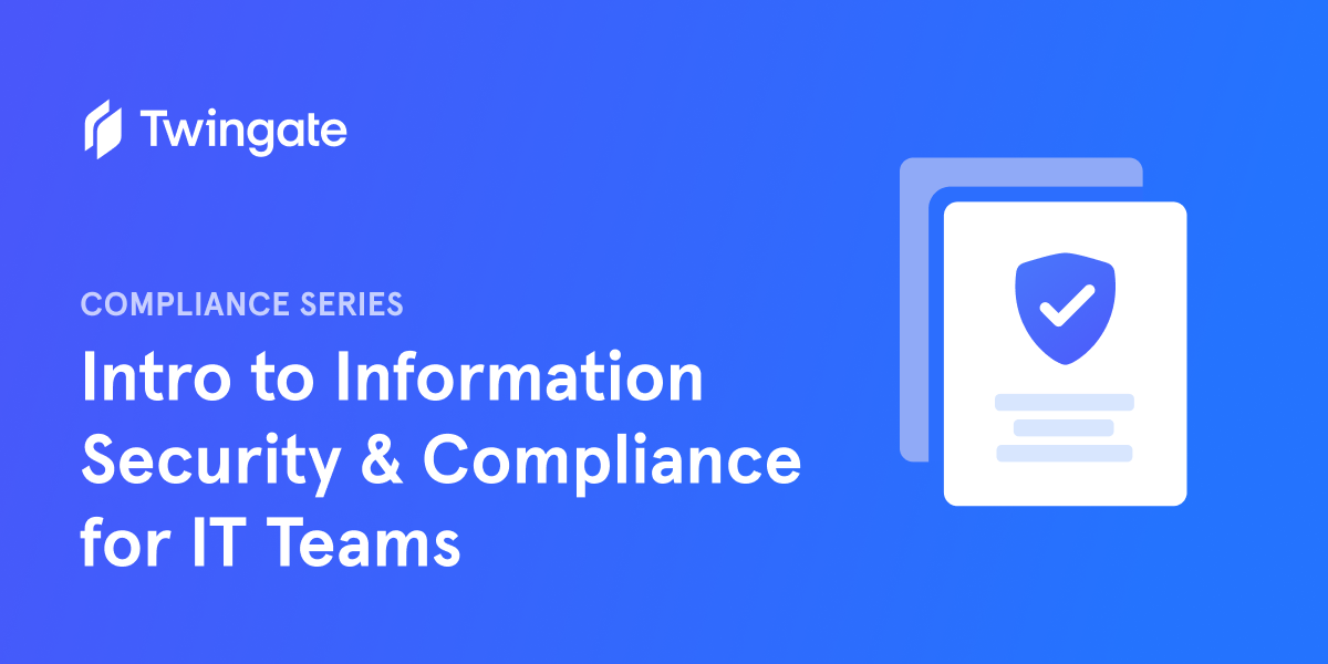 Intro to Info Safety & Compliance for IT Groups thumbnail